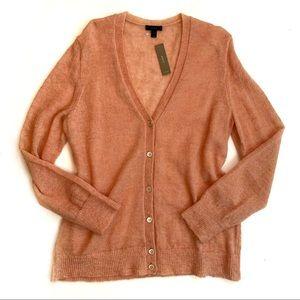 J. Crew Mohair Cardigan Sweater